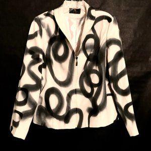 FENDI X CUSTOM Blazer Graffiti Haute Couture